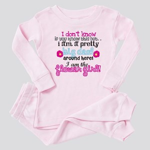 Big Deal Flower Girl Baby Pajamas