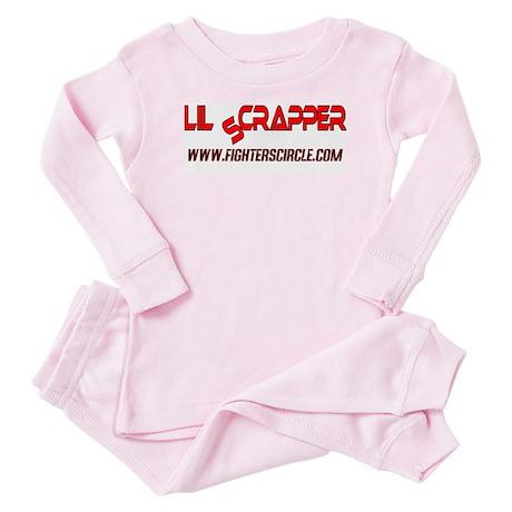 """FightersCircle.com Lil Scrapper"" Baby Pajamas"