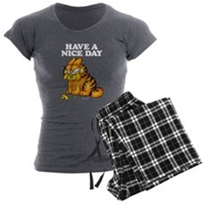 Have a Nice Day Women's Charcoal Pajamas