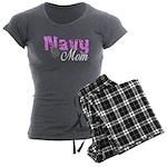 Navy Mom Women's Charcoal Pajamas