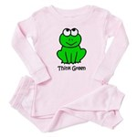 Think Green Baby Pajamas