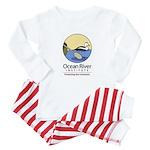 Ocean River Baby Pajamas
