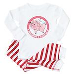 Inspirational Flying Pig Baby Pajamas
