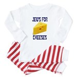 Jews for Cheeses Baby Pajamas