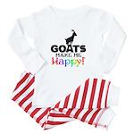 GOATS Make me Happy Baby Pajamas