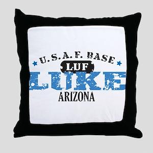Luke Air Force Base Throw Pillow