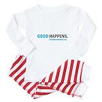 gdhpns_White_BabyOutfit Baby Pajamas