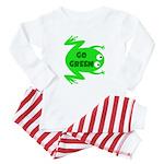 Go Green Frog Ecology Baby Pajamas