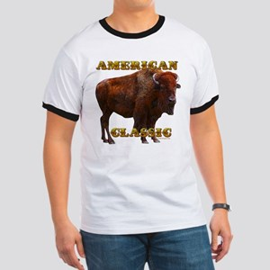 Buffalo by cFractal Tees Ringer T