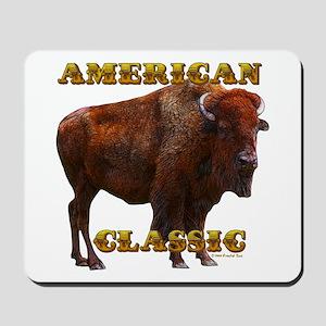 Buffalo by cFractal Tees Mousepad
