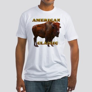 Buffalo by cFractal Tees Fitted T-Shirt