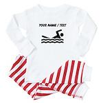 Custom Swimming Baby Pajamas