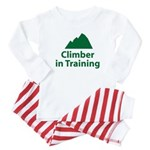 Climber in Training Baby Pajamas
