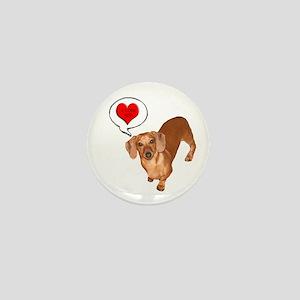 Love You Mini Button