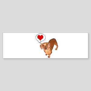 Love You Bumper Sticker