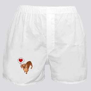 Love You Boxer Shorts