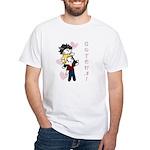 Jasper/Alice - Gotcha! White T-Shirt