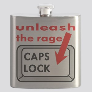 Caps Lock Unleash The Rage Flask