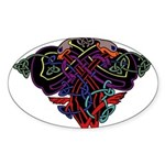 Celtic Pride Sticker (Oval)