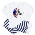Go Air Force Baby Pajamas