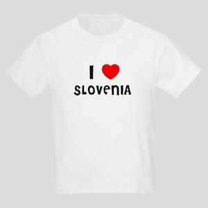 I LOVE SLOVENIA Kids T-Shirt