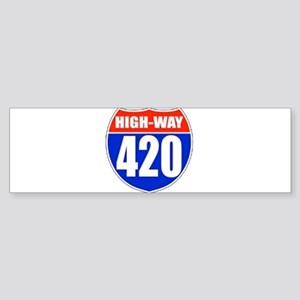 highway Bumper Sticker