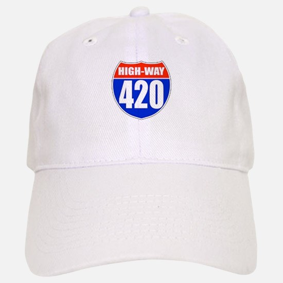 highway Baseball Baseball Cap