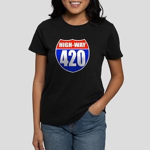 highway Women's Dark T-Shirt