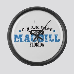 MacDill Air Force Base Large Wall Clock