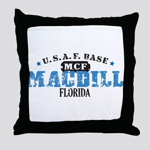 MacDill Air Force Base Throw Pillow