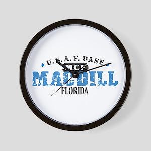 MacDill Air Force Base Wall Clock