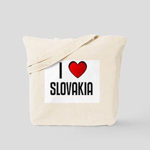 I LOVE SLOVAKIA Tote Bag