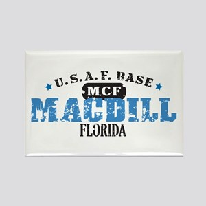 MacDill Air Force Base Rectangle Magnet