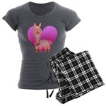 Alpaca Women's Charcoal Pajamas