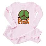 Peace Baby Pajamas
