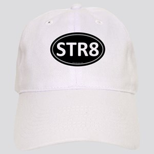 STR8 Black Euro Oval Cap