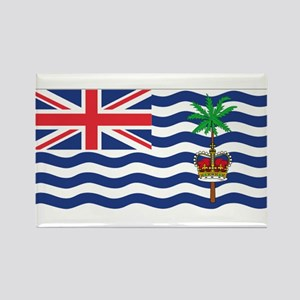 British Indian Ocean Territor Rectangle Magnet