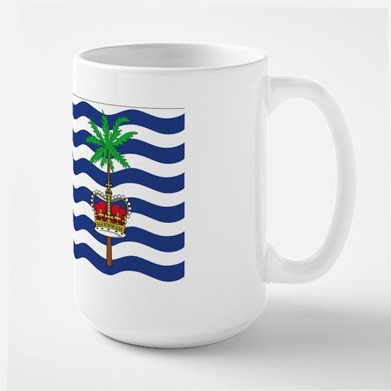 British Indian Ocean Territor Large Mug