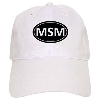 MSM Black Euro Oval Cap