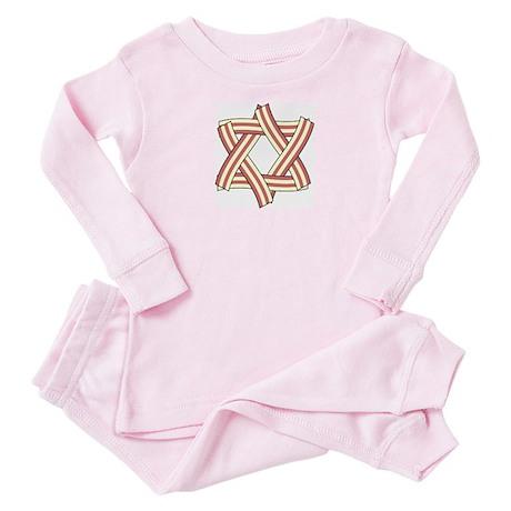 Lil' Star of Bacon Baby Pajamas