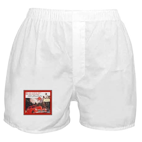 """1939 Studebaker Ad"" Boxer Shorts"