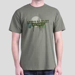 Annie Oakley (Green) - Dark T-Shirt