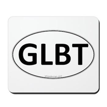 GLBT Euro Oval Mousepad