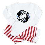 2Dolphins Baby Pajamas