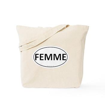 FEMME Euro Oval Tote Bag