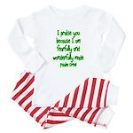 Psalm 139:14 Baby Pajamas