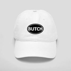 BUTCH Black Euro Oval Cap