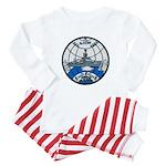 USS GLACIER Baby Pajamas