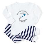 Rocket_lettering Baby Pajamas