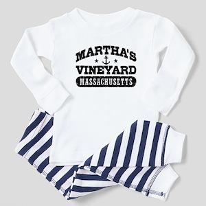 Martha's Vineyard Massachusetts Baby Pajamas